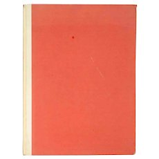 First Edition Book: Albert Sterner: His Life and His Art by Ralph Flint