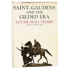 First Edition Book: Saint-Gaudens and the Gilded Era by Louise Hall Tharp
