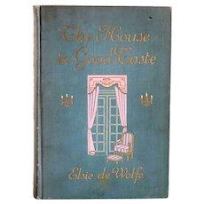 Book: The House in Good Taste by Elsie de Wolfe