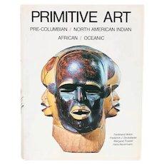 Vintage Book: Primitive Art by Margaret Trowell et al.