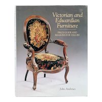 Book: Victorian and Edwardian Furniture by John Andrews