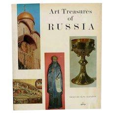 Art Book: Art Treasures of Russia by Mikhail Vladimirovich Alpatov