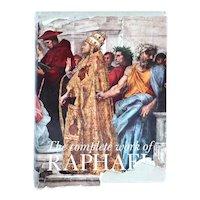Vintage Art Book: The Complete Work of Raphael by Mario Salmi et al.