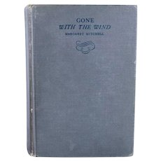 Vintage Book: Gone with the Wind by Margaret Mitchell, Second Printing
