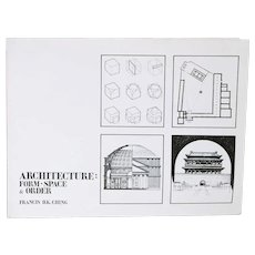 Book: Architecture: Form • Space & Order by Francis D. K. Ching