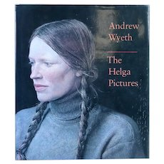 Vintage Art Book: Andrew Wyeth, The Helga Pictures by John Wilmerding