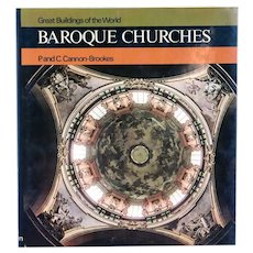 Book: Great Buildings of the World, Baroque Churches by P. & C. Cannon-Brookes