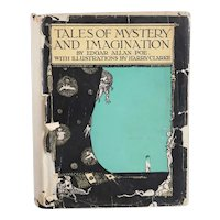 Vintage Book: Tales of Mystery and Imagination by Edgar Allan Poe and Harry Clarke