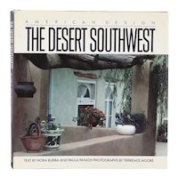 First Edition Book: American Design, The Desert Southwest by Nora Burba