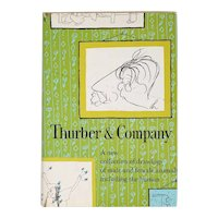 Vintage First Edition Book: Thurber & Company by James Thurber