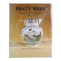 Vintage Book: Pratt Ware by John and Griselda Lewis