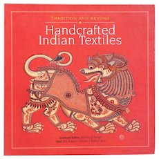 Book: Handcrafted Indian Textiles by Rta Kapur Chishti and Rahul Jain