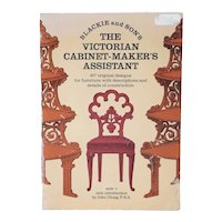 Vintage Book: Blackie & Son's The Victorian Cabinet-Maker's Assistant by John Gloag