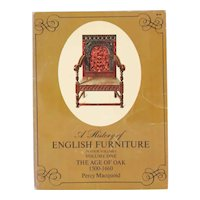 Vintage Book: A History of English Furniture, Volume I by Percy Macquoid