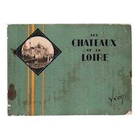 Vintage Illustrated Album: Les Chateaux de la Loire by Jean-M. Schweitzer