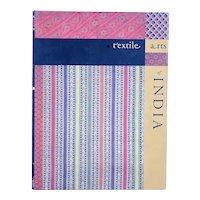 Vintage Book: Textile Arts of India by Kokyo Hatanaka