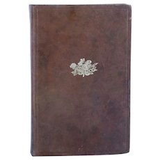 First Edition Leather Book: A History of Gold Snuff Boxes by Richard & Martin Norton