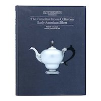 Vintage Auction Catalog: Sotheby's, The Cornelius Moore Collection of Early American