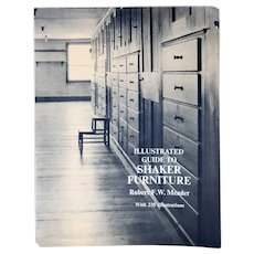 Vintage Book: Illustrated Guide to Shaker Furniture by Robert F. W. Meader
