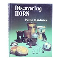 Signed First Edition Book: Discovering Horn by Paula Hardwick