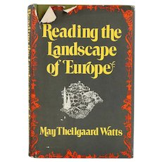 Vintage Book: Reading the Landscape of Europe by May Theilgaard Watts