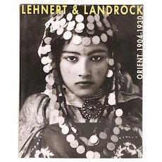 French Book: Lehnert & Landrock, Orient 1904-1930 by C-H. Favrod & A. Rouvinez