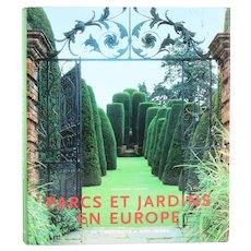 French Book: Parc et Jardins en Europe by Ehrenfried Kluckert
