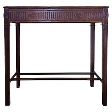 French Louis XVI Style Painted Console Table