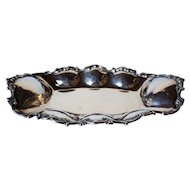 Vintage Mexican Sterling Silver Tray
