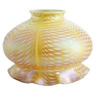 American Steuben Carder Period Gold Art Glass Lamp Shade