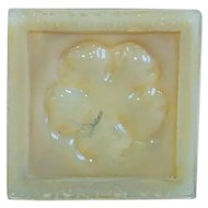 Amercian Tiffany Studios Art Glass Shell Pattern Fireplace Tile