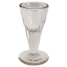 Very Small English Georgian Dram Drinking Glass
