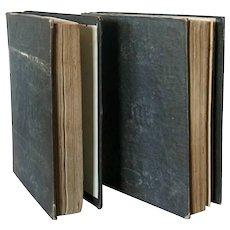 Two German Books: Das Buch der Welt 1852, 1853