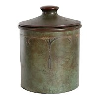 American Smith Metal Co. SilverCrest Sterling Silver and Patinated Bronze Humidor