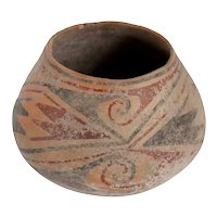Vintage Casas Grandes Style Polychrome Pottery Jar