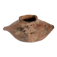 Vintage Casas Grandes Style Polychrome Pottery Fish Effigy Vessel