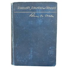 German Book: Jungfrau von Orleans by Friedrich von Schiller