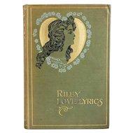 Book: Riley Love-Lyrics by James Whitcomb Riley