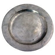 English William Hogg George III Pewter Plate