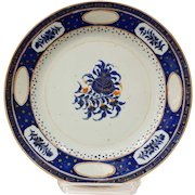 Chinese Export Porcelain Plate for the Persian Market