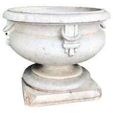 American Terracotta Elitch Gardens Stone Planter Urn