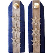 Pair of British Military Uniform Captain Epaulets
