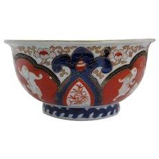 Japanese Imari Porcelain Footed Bowl