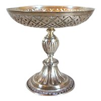 Small English George V Crichton Brothers Sterling Silver Footed Bowl