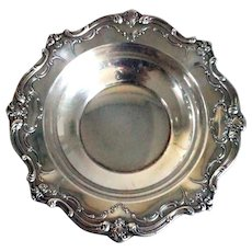 Small Vintage American Gorham Sterling Silver Chantilly Duchess Bon-Bon Bowl