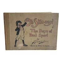 First Edition Book: Oh Skin-nay! The Days of Real Sport by Clare A. Briggs and Wilbur D. Nesbit