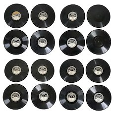 Collection of 16 American Edison Edison Diamond Disc Phonograph Records