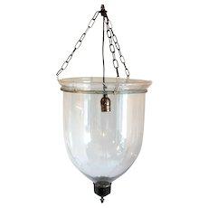 English Regency Style Glass One-Light Hall Lantern