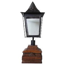 Anglo Indian Toleware Post Lantern