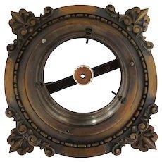 American Victorian Heavy Bronze Ceiling Lighting Fixture